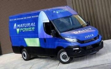 Iveco Daily 3.5 ton met CNG aardgasmotor ( ook met 8 traps volautomaat)