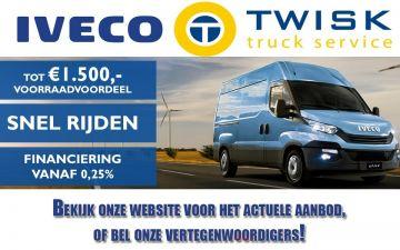 Tot € 1500,- registratievoordeel op een IVECO Daily uit voorraad!