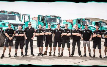 Uitstekende Dakar-start voor Team De Rooy op 2, 3 en 4 !