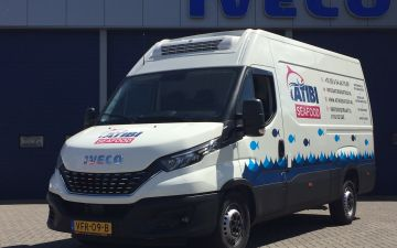 Atibi seafood - Iveco Daily 35s16a8 koelwagen