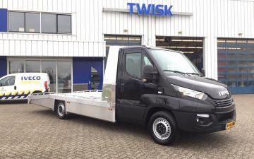 Auto verkoop Alkmaar - Iveco Daily 35S18 automaat + tijhoff bak