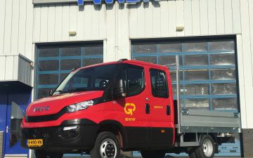 GP Groot - Iveco Daily 40C15 + twisk laadbak