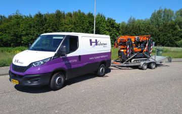 Hulster transport - Iveco Daily 35s16va8