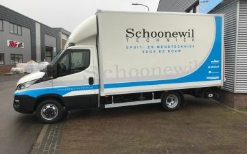 Schoonewil techniek - Iveco Daily 40C18a8 + Citybox