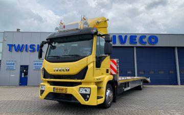 Stekelbos caravans - Iveco Eurocargo ML120E25/FP + twisk laadbak