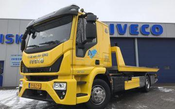 Van der Eng - Iveco Eurocargo slaapcabine