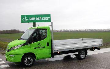 Van der Stelt - Iveco Daily 35C14 + Twisk laadbak