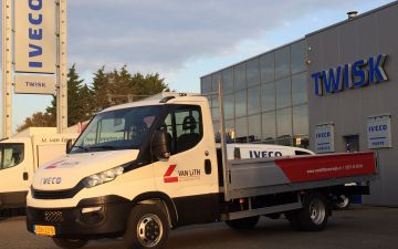 Van Lith Bouwbedrijf - Iveco Daily 35C14 + twisk laadbak